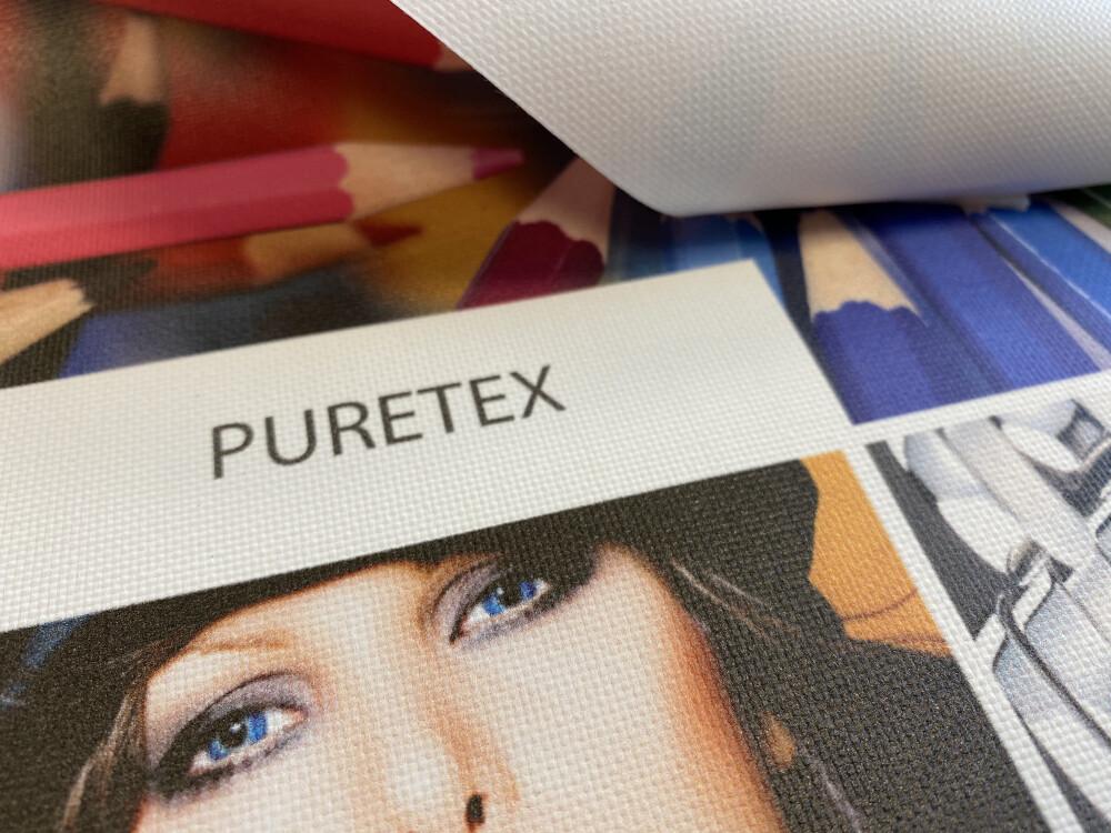 PVC-vaba bänneri materjal Puretex Metroprindilt
