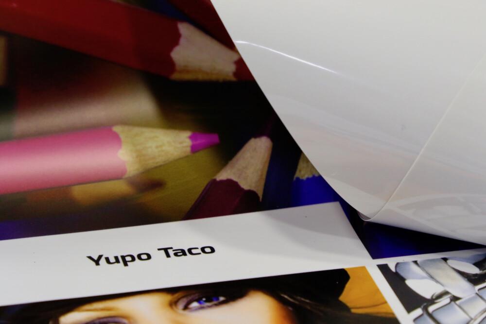 Metroprint Yupo Taco kleebise materjal